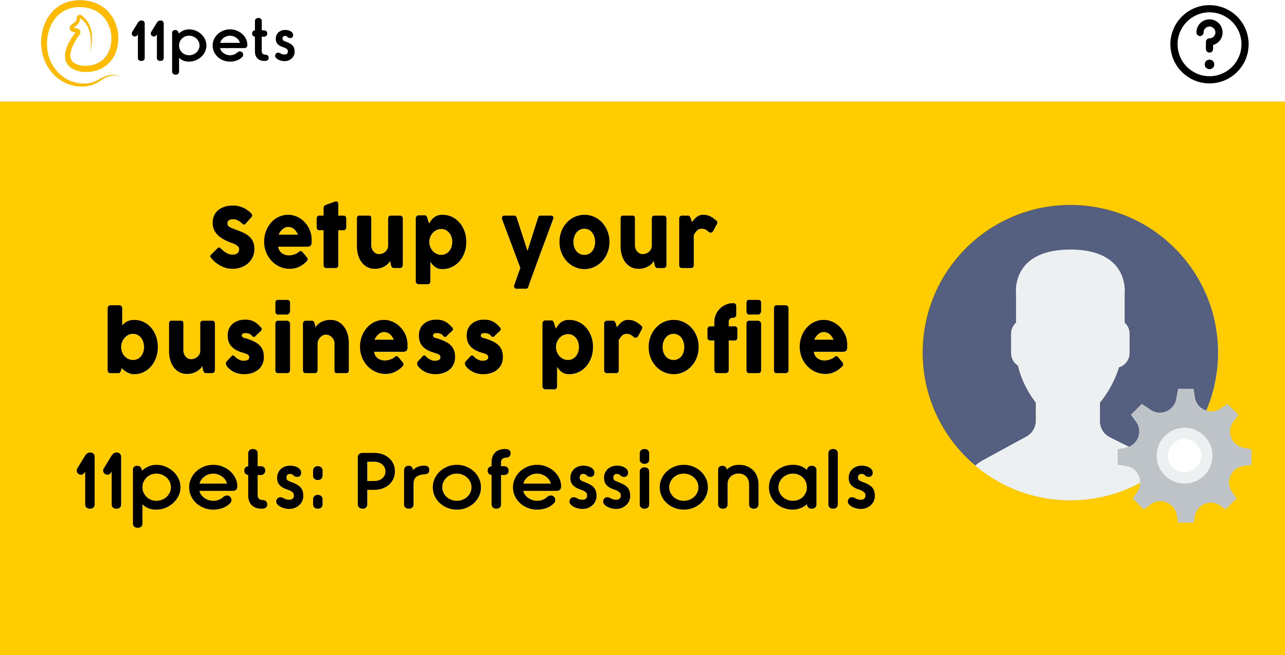 Setup your business profile