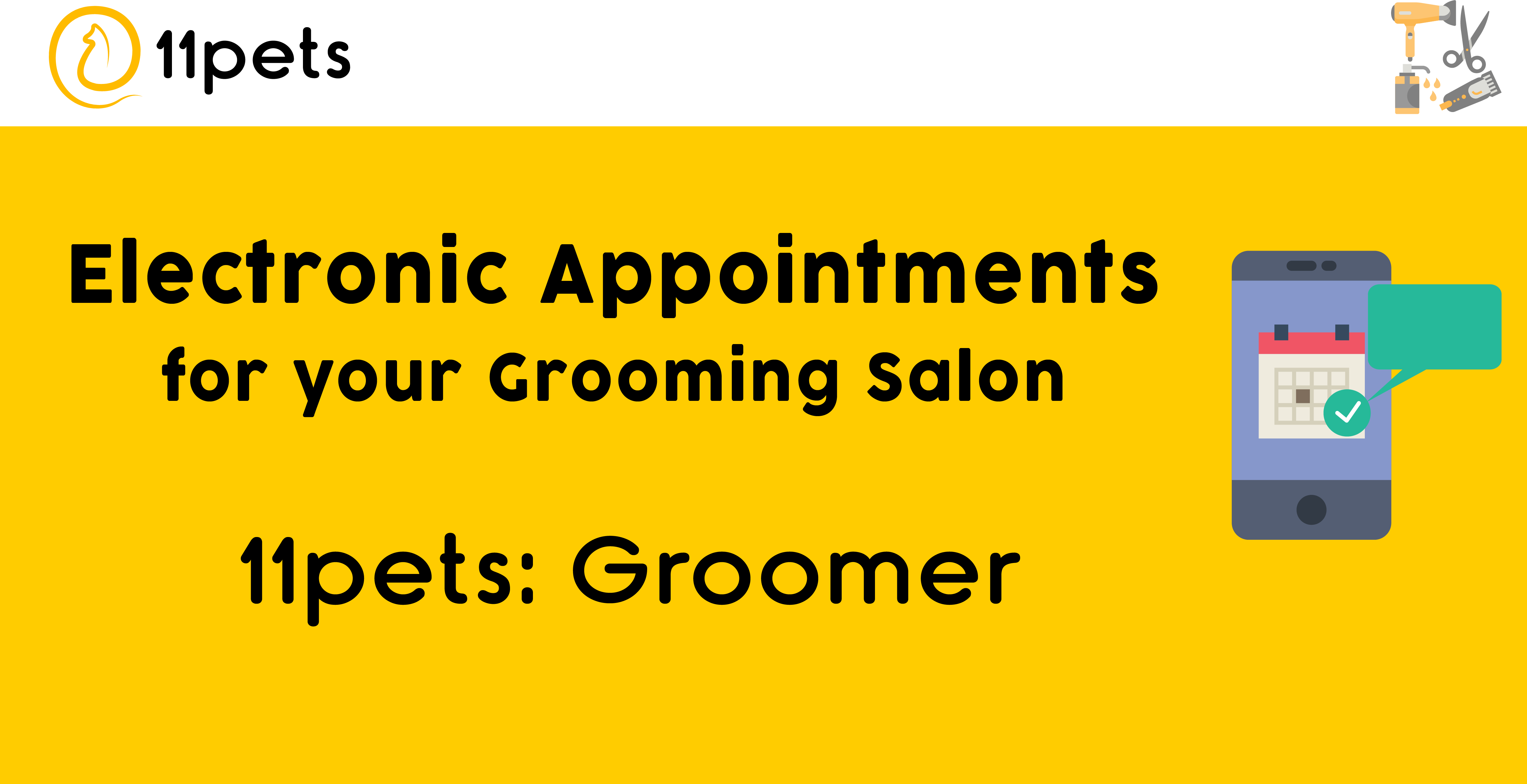 Electronic Appointments for your grooming salon