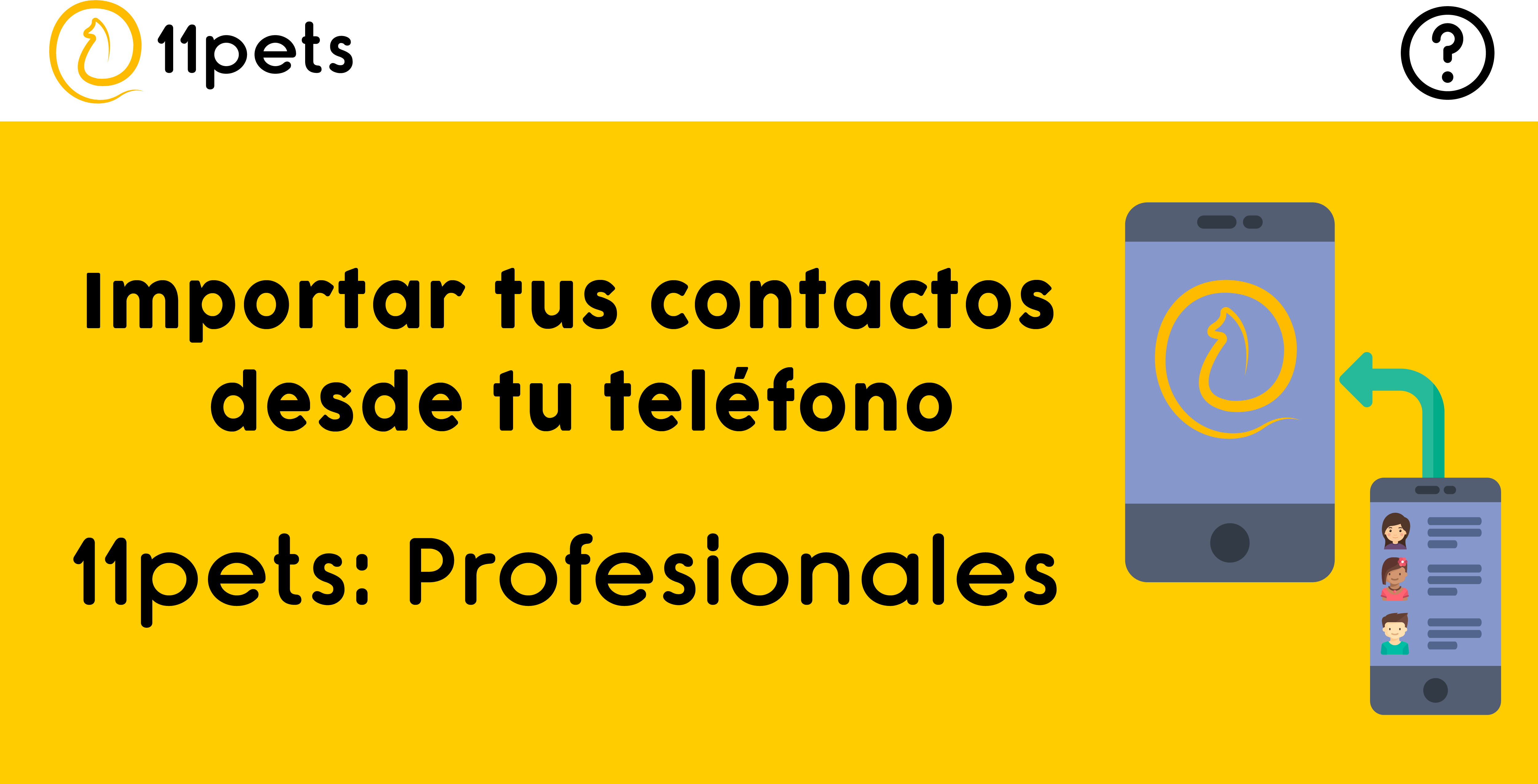 Importar los contactos de tus desde tu teléfono