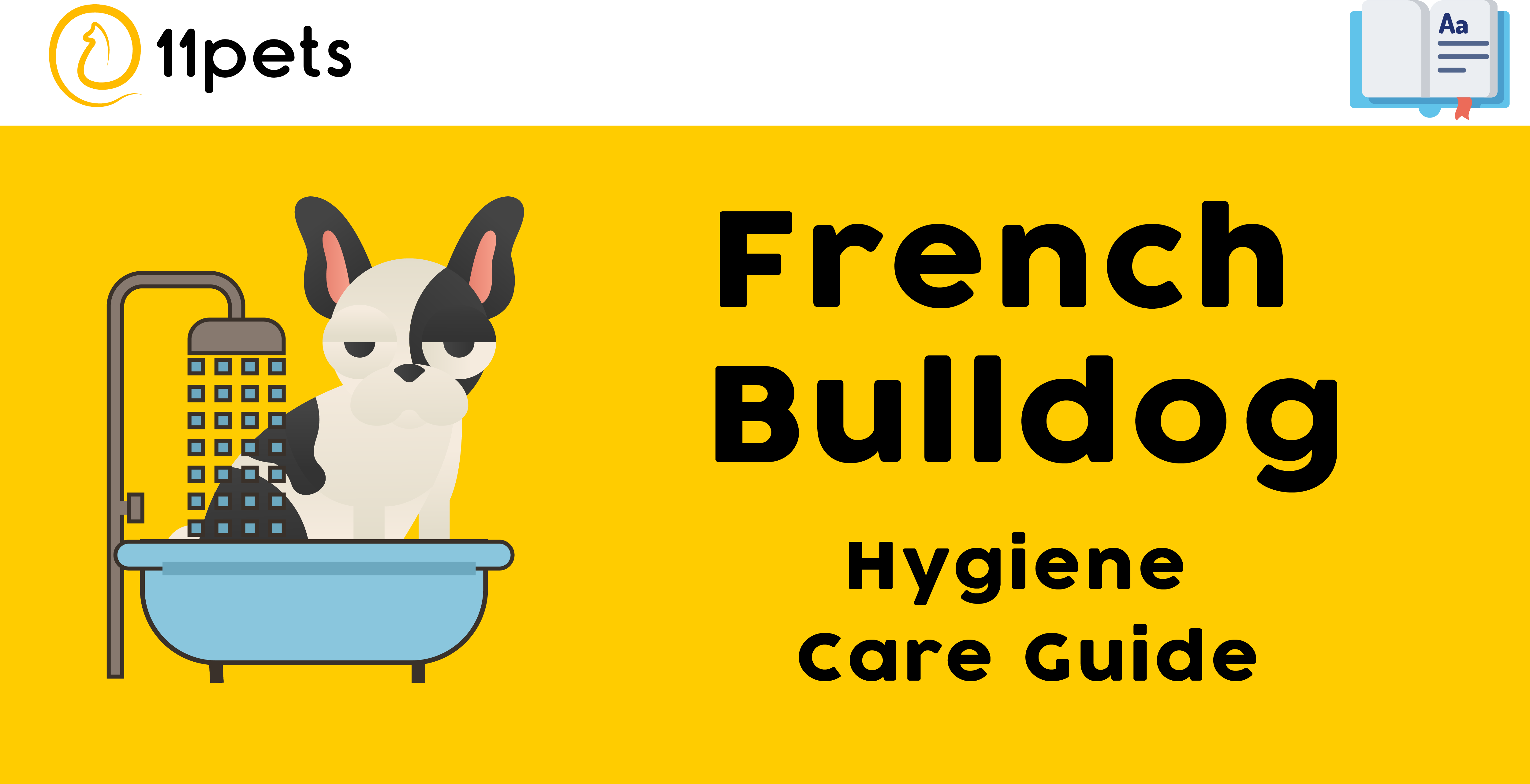 Hygiene Care Guide for French Bulldog