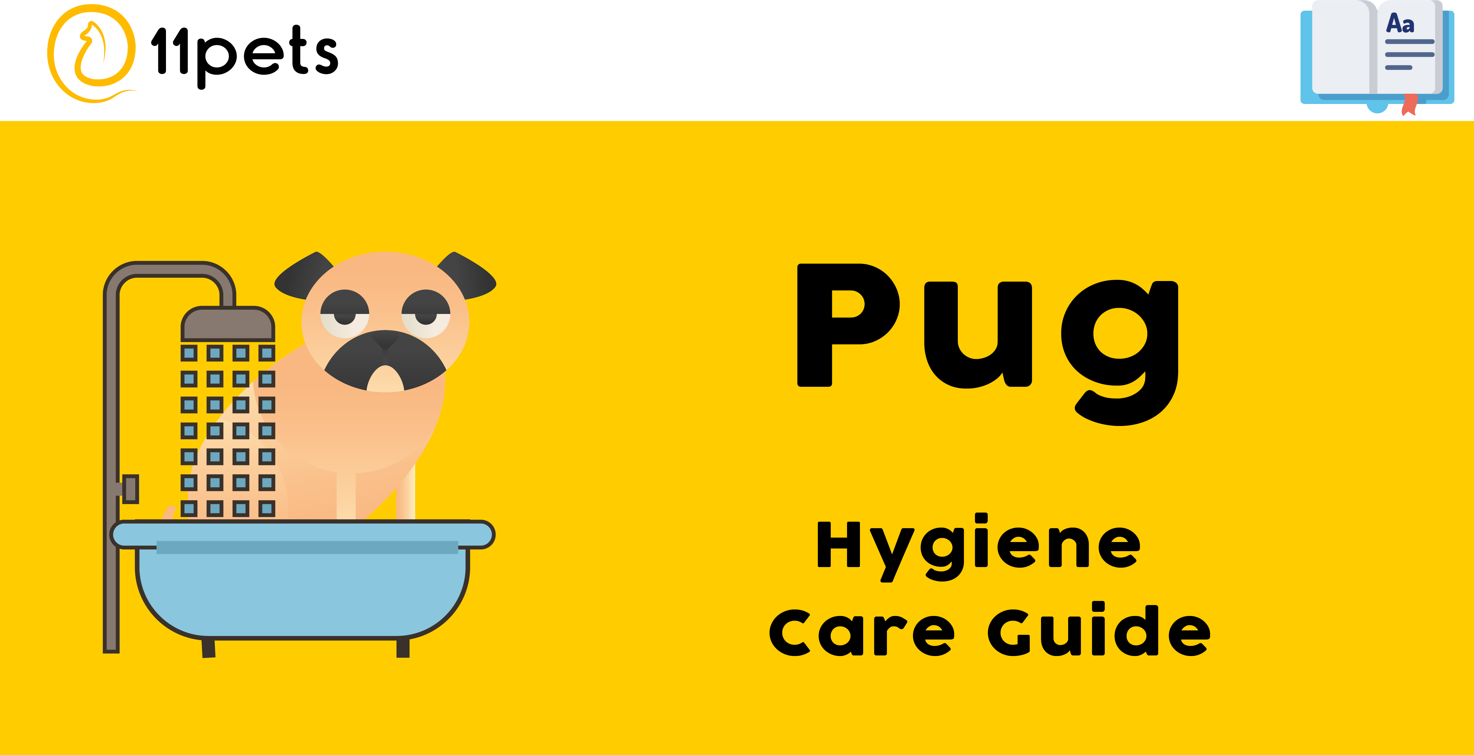 Hygiene Care Guide for Pugs