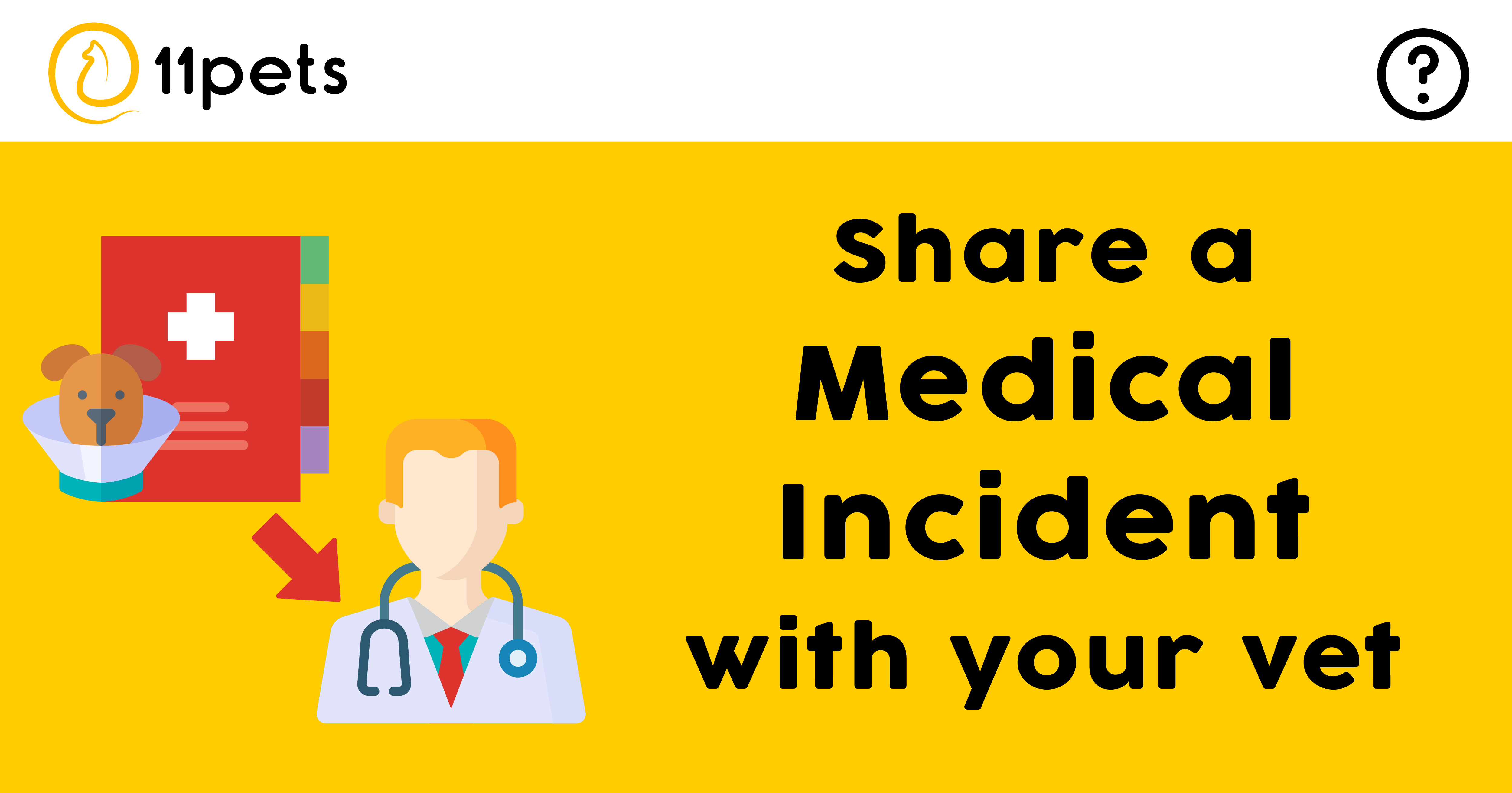 Share a Medical Incident with your veterinarian