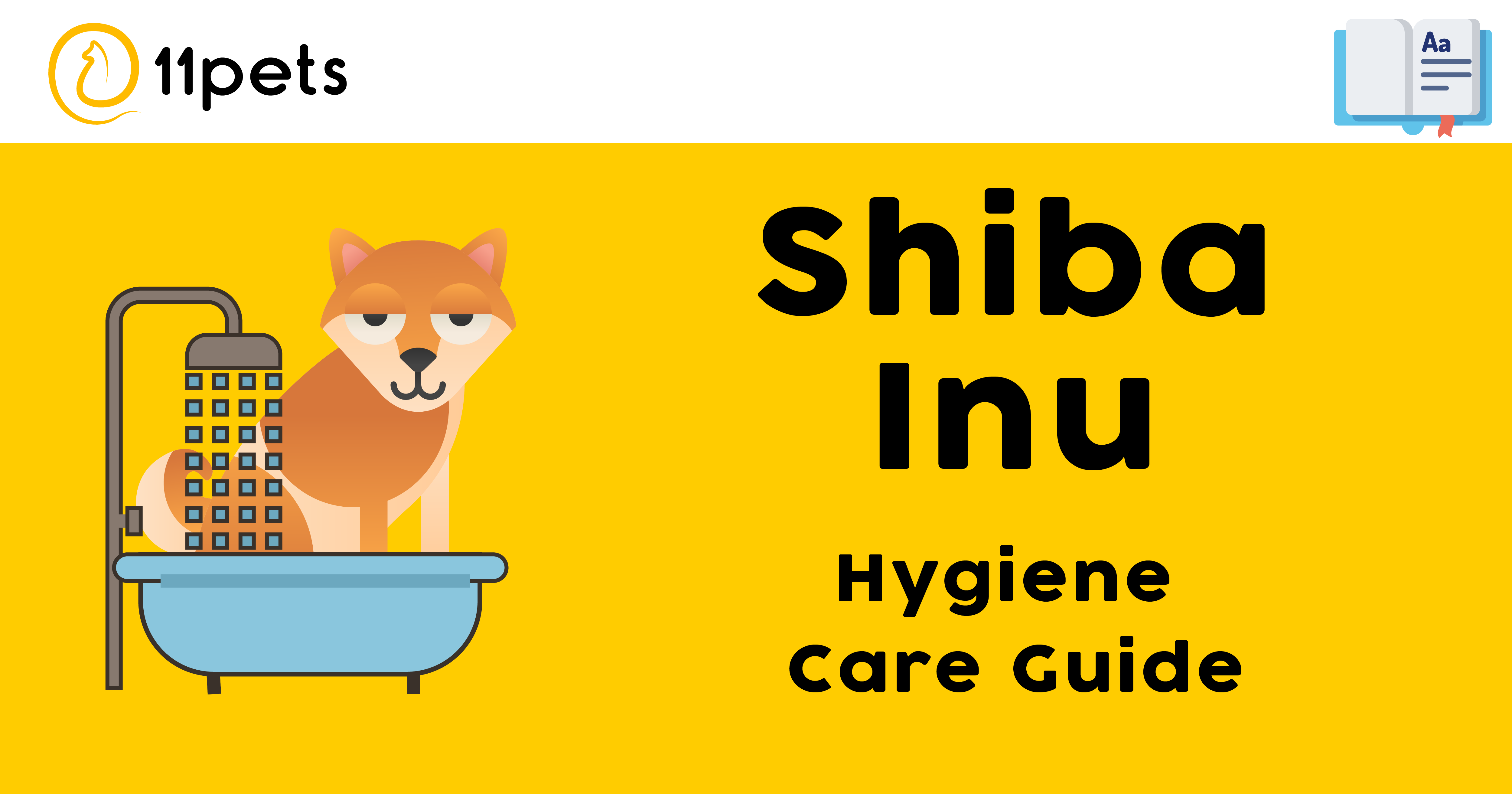 Hygiene Care Guide for Shiba Inu