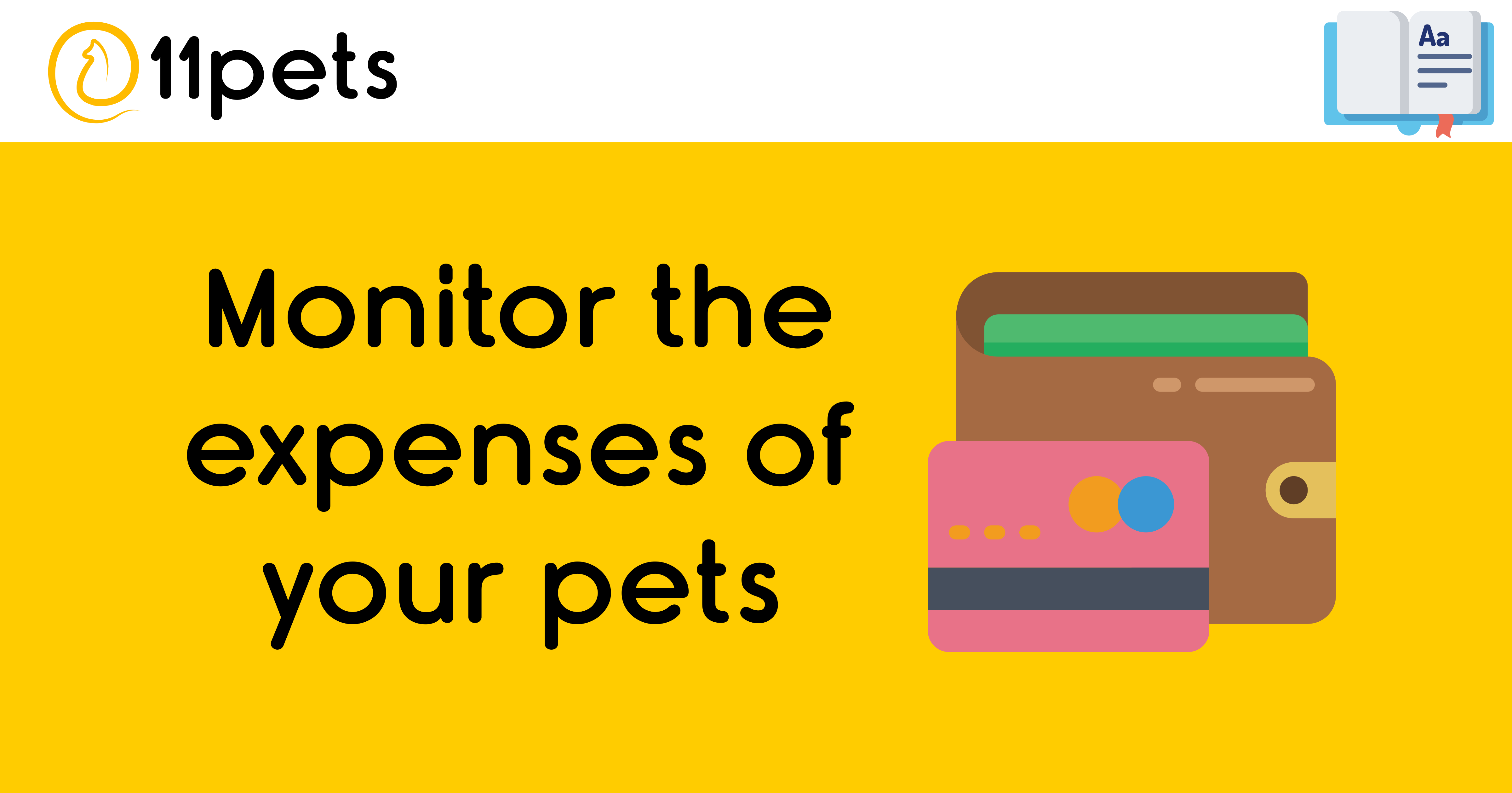 Monitor the expenses of your pets